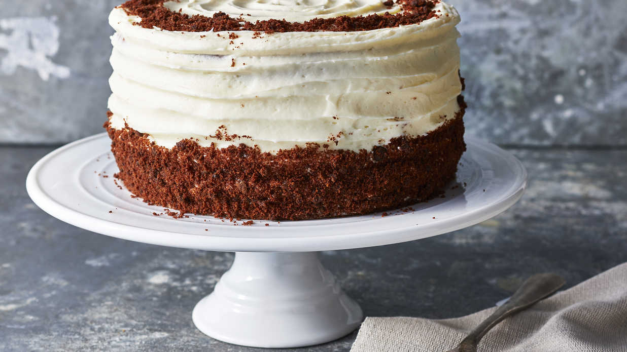 Brown Velvet Cake Recipe