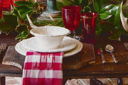 James Farmer Christmas Table Still
