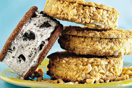 Irresistable Ice-cream Sandwiches