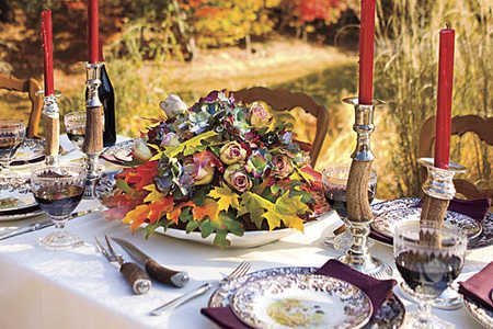 Thanksgiving Decorations Tablesetting & Thanksgiving Table Setting Ideas - Southern Living