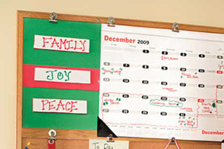 Holiday Family Planner