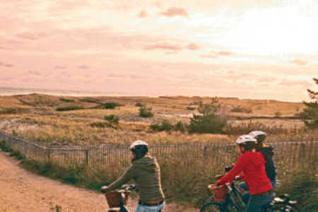 biking in nantucket