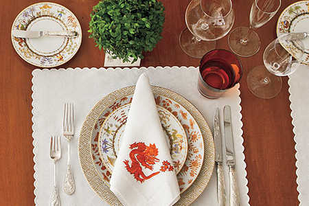 Mix-and-Match China and Glassware