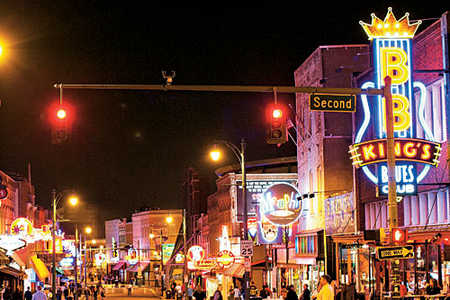 Nightlife in Memphis