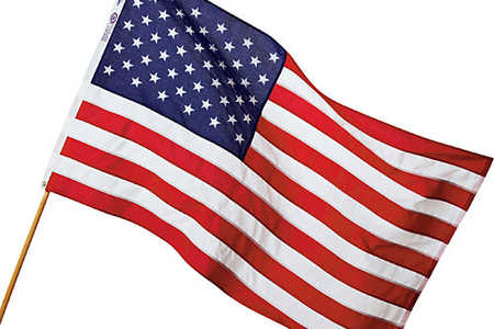 3' by 5' US Polyester Flag