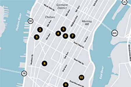 New York City Barbecue Map