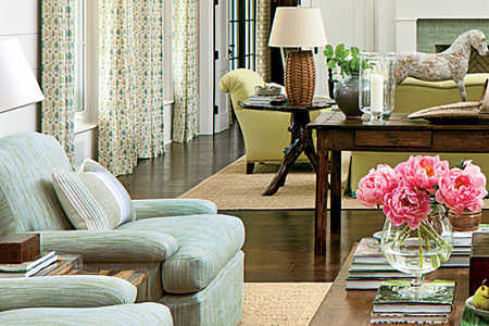 Placing Furniture on Area Rugs