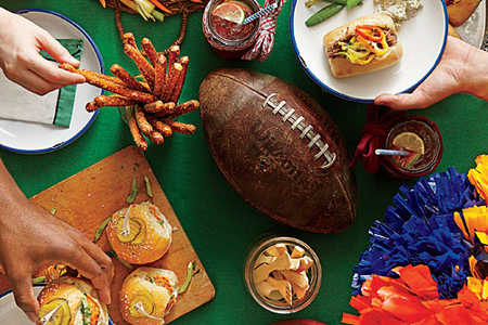 Tailgate Table Spread