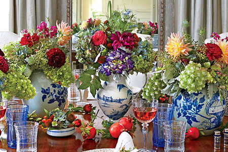 Decorating with Transferware