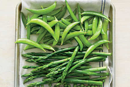 Blanched Green Vegetables