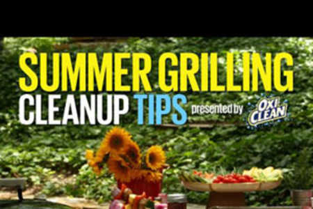 Summer Grilling Cleanup Tips