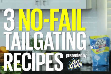 Three No-Fail Tailgating Recipes