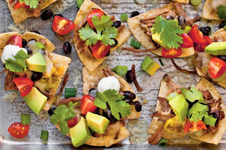 Slow-Cooker Beef Nachos Recipe