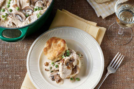 Stovetop Chicken Pie