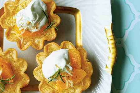 Ambrosia Chess Tarts Recipe