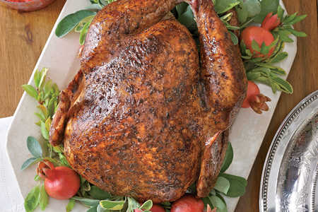 Salt-and-Pepper Roasted Turkey