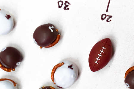 Cookie Ball Football Helmets