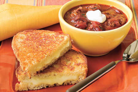 Chili and Grilled Cheese Recipes