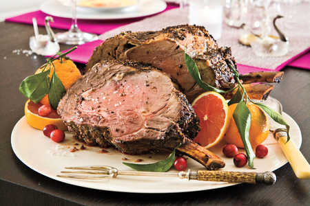 Fennel-Crusted Rib Roast Recipes
