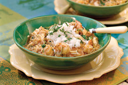 Crab-and-Shrimp Etouffee