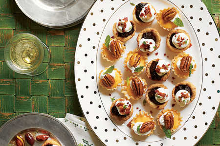 Bacon-Fig Tassies