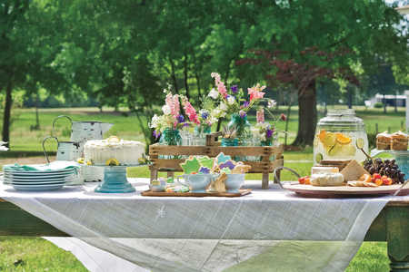 Amy Tornquist's Easter Table