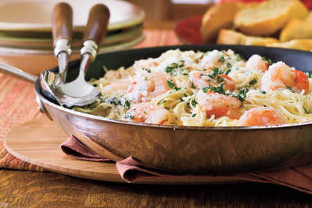 Easy Pasta Recipes: Shrimp Scampi