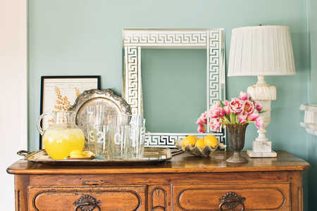 Do-It-Yourself Etched Wall Mirror: Display Your Mirror