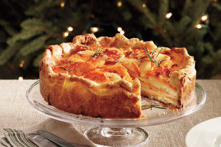 Christmas holiday recipes southern living potato gratin with rosemary crust christmas recipes forumfinder Images