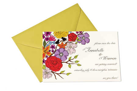 Wedding Gift Ideas: Garden View Save-the-Date