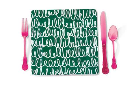Bold Place Setting