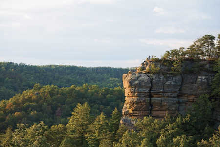 Chimney Top Rock of Red River Gorge, Kentucky