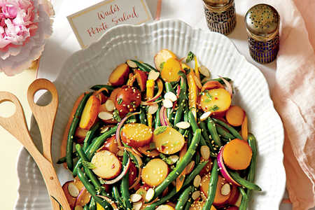 Green Bean Potato Salad with Lemon-Soy Vinaigrette