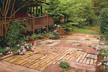 Patchwork Quilt Patio