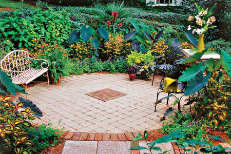 Create a Courtyard