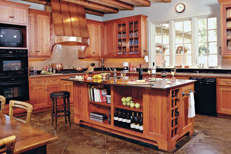 Enrich Your Kitchen With Wood