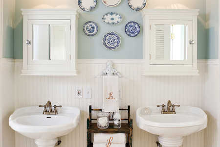 Brilliant Bath and Laundry Room Combo