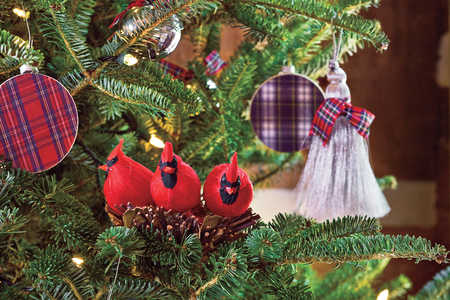Tartan Plaid Ornament