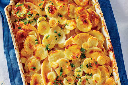 Thanksgiving Sides: Root Vegetable Gratin