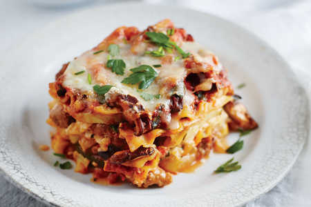 Sausage and Squash Lasagna