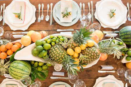 Southern Living Edible Summer Fruit Centerpieces
