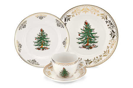 Christmas China Patterns