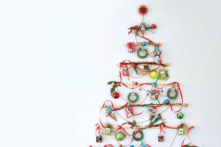 Advent Calendar Wall Christmas Tree