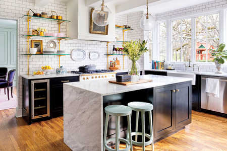Holly Williams Colonial Revival House Renovation in Nashville, TN