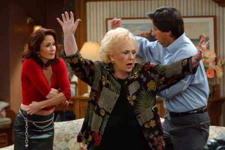 Patricia Heaton and Doris Roberts in Everybody Loves Raymond