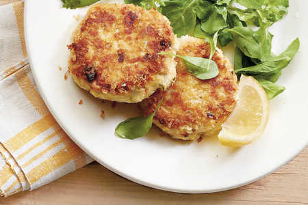 Crunchy Crab Cakes Recipe, Photo by Jennifer Davick