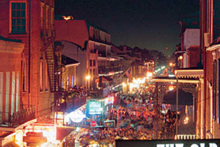 view of bourbon street