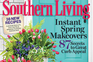 Southern Living Magazine March Issue