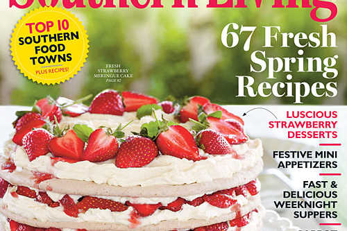 Southern Living Magazine April Issue