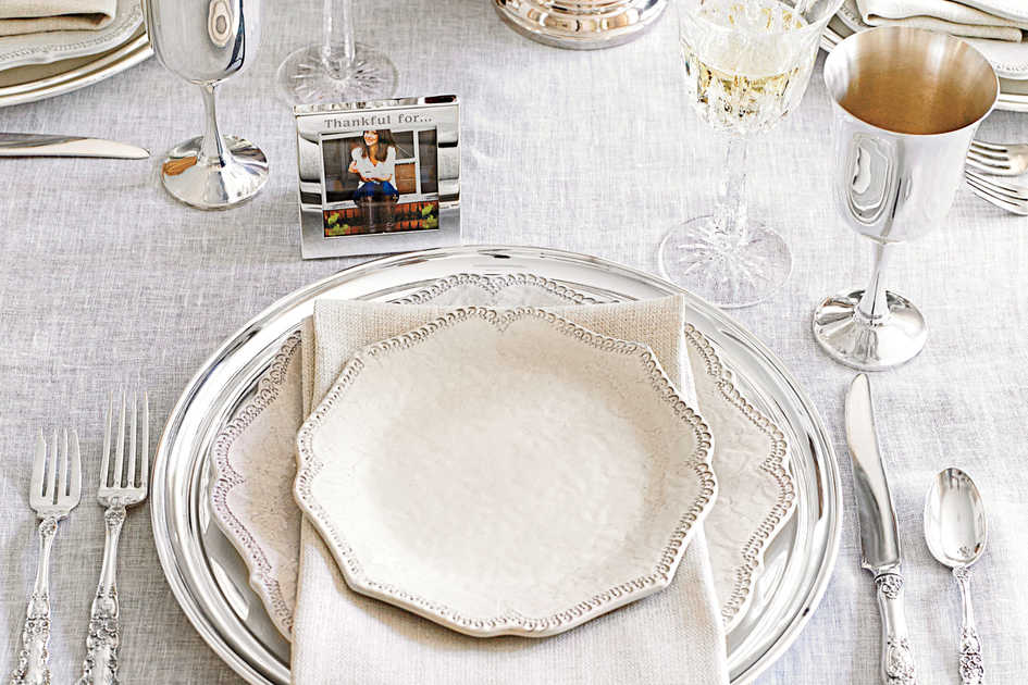 Thanksgiving Table Place Setting Ideas Part - 25: More Inspiring Thanksgiving Table Settings. The Place Setting